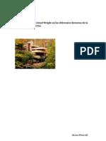 La Figura de Frank Lloyd Wright en Las Diferentes Historias de La Arquitectura Moderna