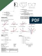 MA1301 Help Sheet