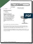 activity 1- pre-assessment p