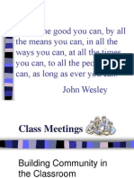 Class Meetings PP
