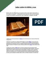 50 Curios Ida Des Sobre La Biblia y Sus Pasajes