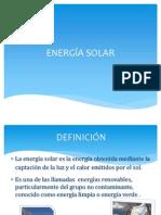 Energia Solar La Diapositiva