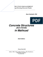 Mathcad in Concrete Structures (ACI 318-05) 6th Edition (CM)