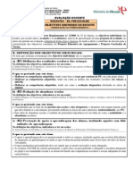 8 - Orientação no Preenchimento  dos Obj.ind.da Ed.Pré-Escolar