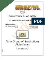 Verka Plant Report