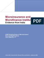 Micro Insurance and MFI Case Study 15