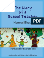 Diary School Teacher English