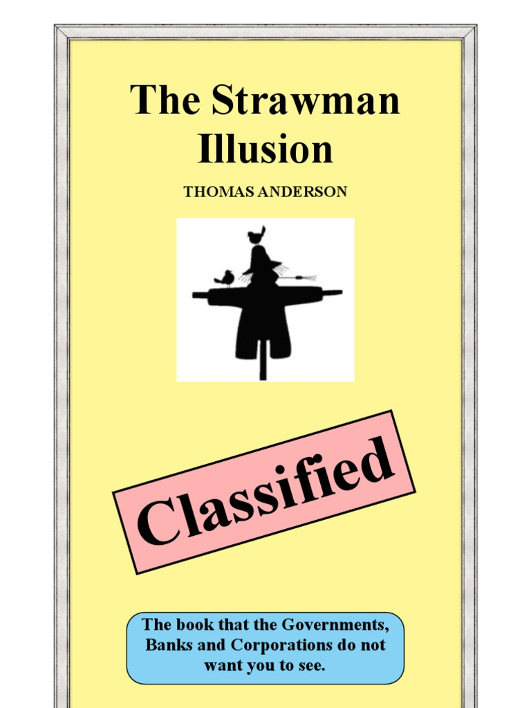 Straw Man Evidence Law Taxes