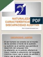 Naturaleza de La ad Auditiva