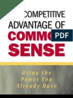7189820 the Competitive Advantage of Common Sense Fergus O27Connel