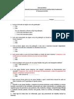 Question Rio Socioeconmico e Relao de Documentos Para Entrevista