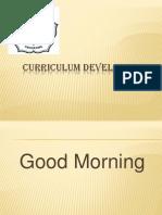 Curriculum Development Presentation