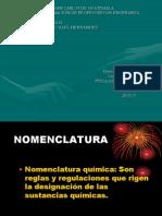 Tipos de Sistema de Nomenclatura en Diapositiva