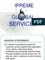 Global Services Profile