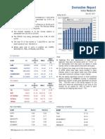 Derivatives Report 30th Decmber 2011