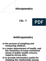 Anthropometric Csl Final
