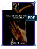 Notas de Estudio Sobre La Homiletic A Por Willie Alvarenga