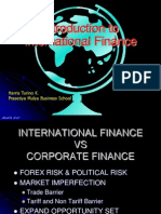 01 Introduction to International Finance 2010