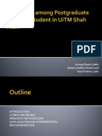 Factors Towards Plagiarism Among Postgraduate Business Student In