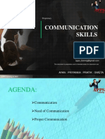 Training & Development Design for Communication Skills