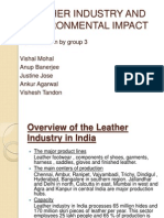 Leather Industry and Environmental Impact