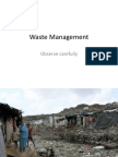 4 Waste Management-Presentation