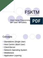 BIT3283 (1) INTRO -Client Server Programming 230911_001