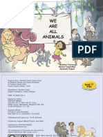 We Are All Animals - English