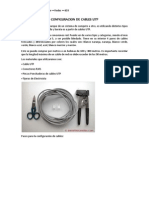 Configuracion de Cables UTP Proyecto
