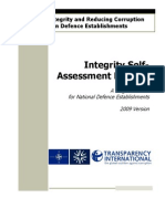 Self Assessment Process