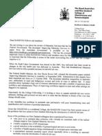 RANZCOG Letter Australia[1]
