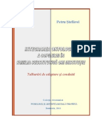 eBook-Integrarea Ontologica a Copilului in Familia Substitutiva ori Institutie-Petru Stefaroi