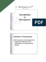 comm management