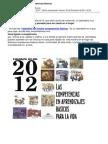 Calendario 2012 sobre competencias básicas
