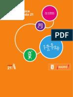 Guía metodológica de la A21E de Madrid