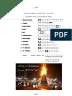 Das subversive Rätsel Dezember 2011