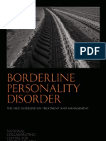 Borderline Personality Disorder Full Guideline-published