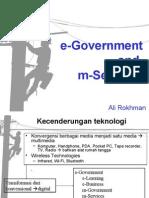 Paradigma Baru Pelayanan Publik Melalui E-Government