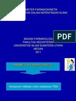 Parameter Karmakokinetik