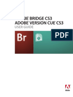 Bridge and Version Cue CS3 Help