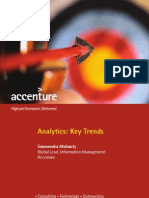 Accenture Analytics Key Trends