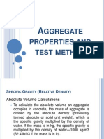 Aggregates Properties and Test Method 2