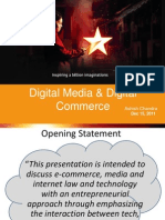 IPR Issues in Digital Media and Digital Commerce - Ashish Chandra