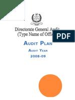 Audit Plan Template)