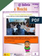 Bulletin Rigoberta Menchú Numéro 2-Française