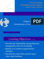 Chapter 1 Cost Accounting Basics