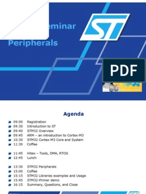 STM32 Peripherals | Data Transmission | Electronics