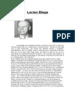 Lucian Blaga - Biografie