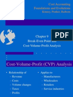 Chapter 9 Cost Volume Profit Analysis