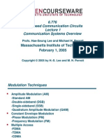 Communication system overview _MIT OCW